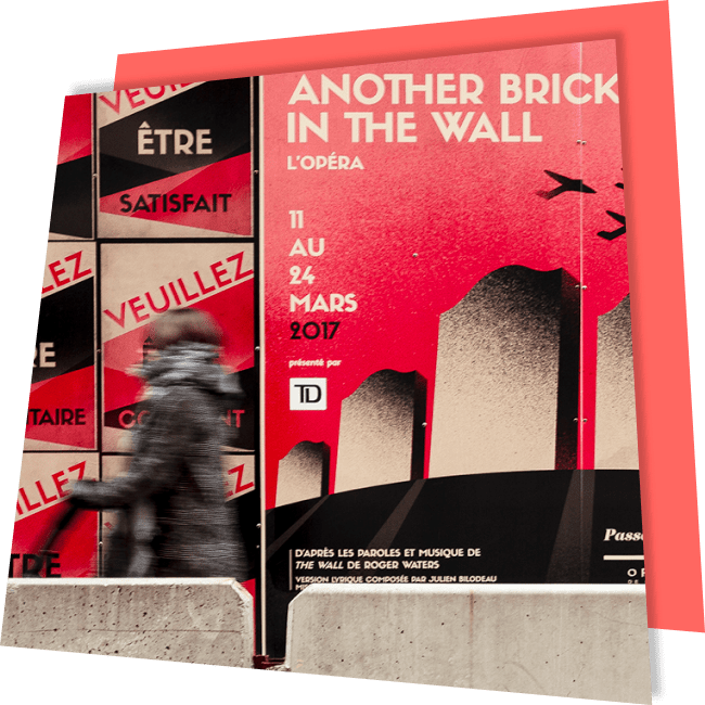 Another Brick in The Wall – L'opéra
