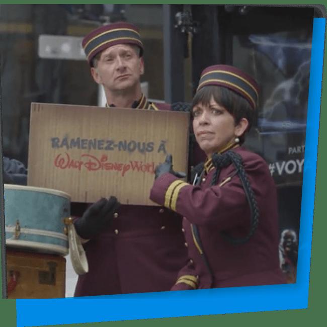 L'expérience Disney à Montréal